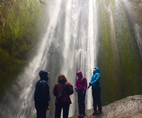 Waterfalls and Volcanoes Adventure + Glacier Walk
